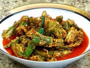 Okra Tomato Curry Manjula's Kitchen Indian Vegetarian