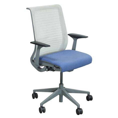 chaise steelcase steelcase think used mesh back conference chair lavender