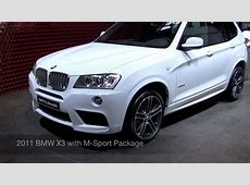 2011 BMW X3 M Sport 2010 Paris Motor Show YouTube