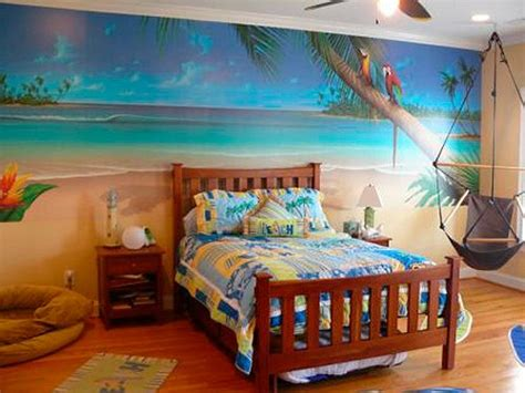 Tropical Themed Bed Room Homedeecom