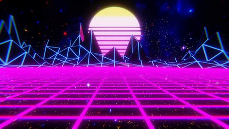 synthwave aesthetic hd wallpapers