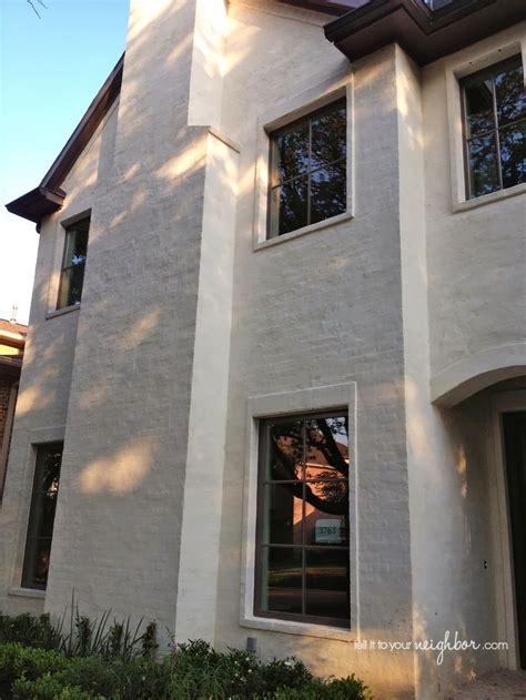 Best Images About Painted Brick Homes On Pinterest