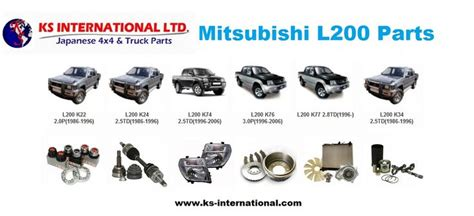 Original Mitsubishi Parts by To Buy Genuine And 100 Original Mitsubishi L200 Parts And