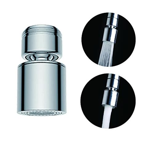 kitchen faucet swivel aerator 2 flow faucet aerator 360 degree swivel for kitchen sink