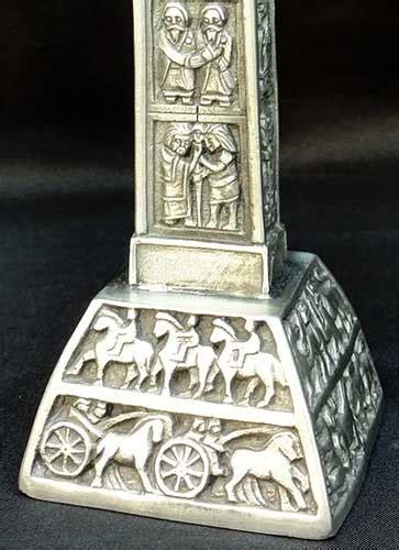 celtic cross mullingar pewter clonmacnoise standing