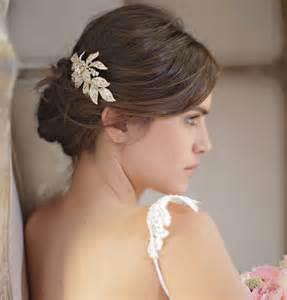 accessoires coiffure mariage les barrettes comme accessoire de coiffure de mariée
