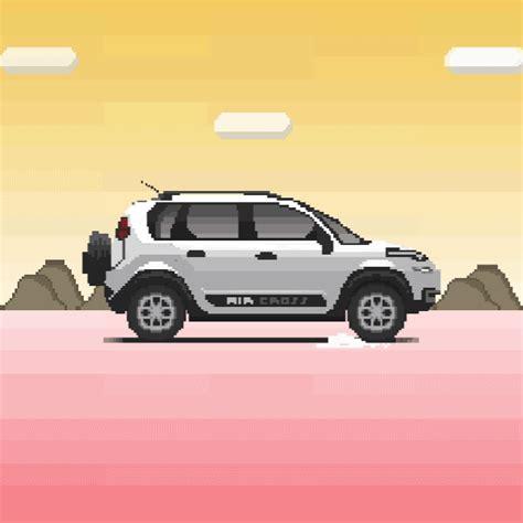 Citroën Transforma Seus Carros Em Gifs Animados De 8bits