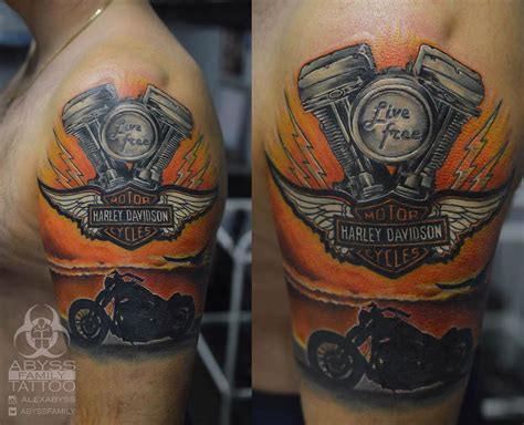 95+ Adventurous Harley Davidson Tattoos