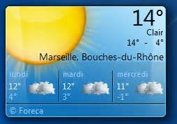 afficher meteo sur bureau windows 7 afficher un gadget horloge sur le bureau de windows 7