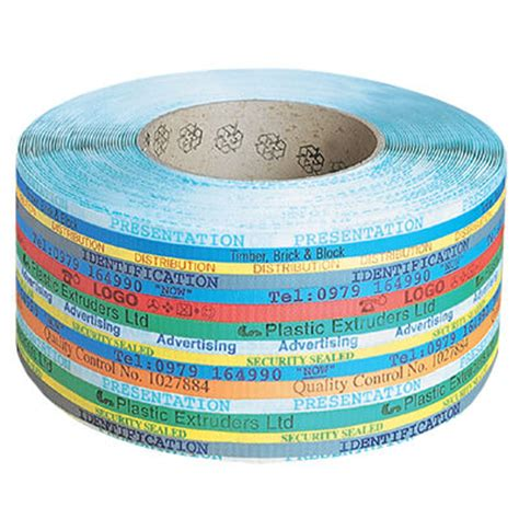 custom plastic strapping  polypropylene strap  pallet strapping