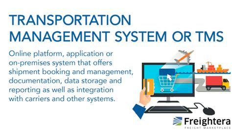 transportation management system  tms freightera blog