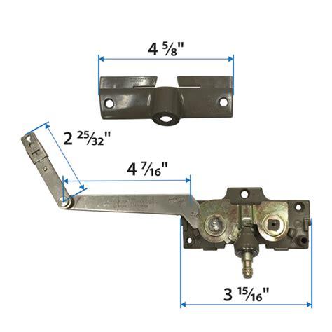 casement split arm operator corrosion resistant  andersen windows doors