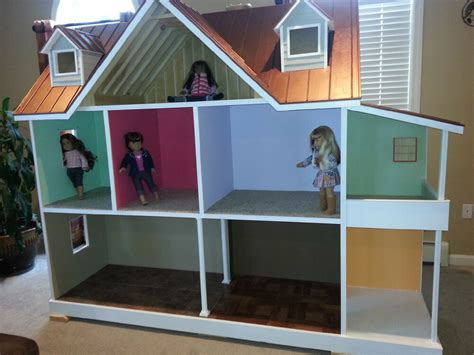 wood work doll house plans   doll  plans