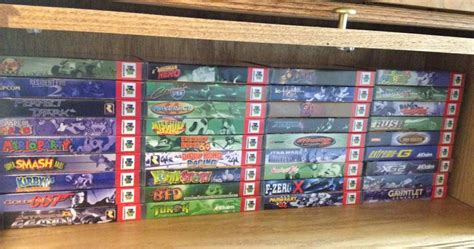 n64 universal cases games display covers cool imgur most expensive printed bit think them way