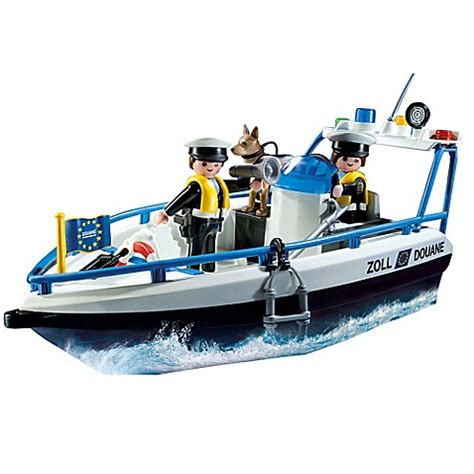 Playmobil Boats Sale by Buy Playmobil 174 Patrol Boat Set From Bed Bath Beyond