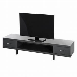 Tv Bank Grau : tv lowboard mdf grau hochglanz tv hifi rack schrank unterschrank tisch bank neu ebay ~ Indierocktalk.com Haus und Dekorationen