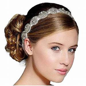 Bridal Wedding Beads Diamond Headbands Hair Accessory