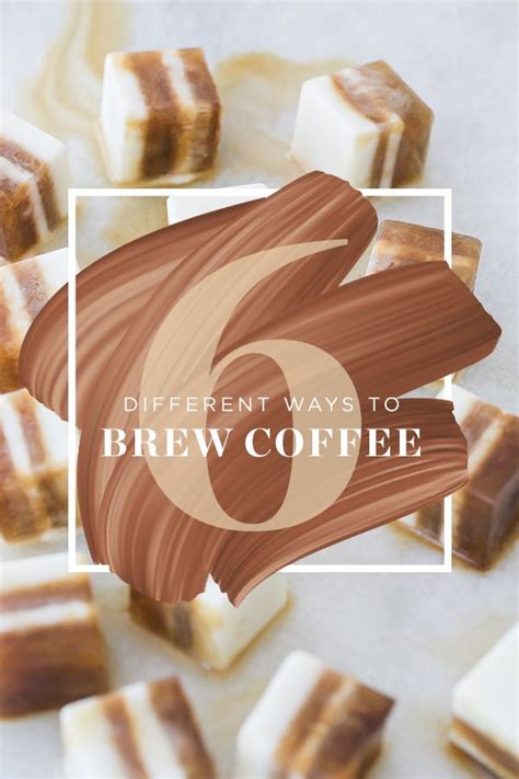 We have enlistyed 8 different kind of coffee brewing methods that you can select according to the brewers best instructions. 6 Different Ways to Brew Coffee #coffee #frenchpress #pourover #chemex #dripcoffee | Gourmet ...