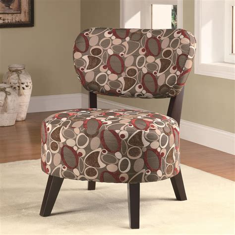 coaster accent seating accent chair  padded seat