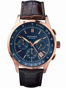 Rose Gold Sprühlack : sekonda mens rose gold plated blue chronograph watch 1157 ~ Avissmed.com Haus und Dekorationen