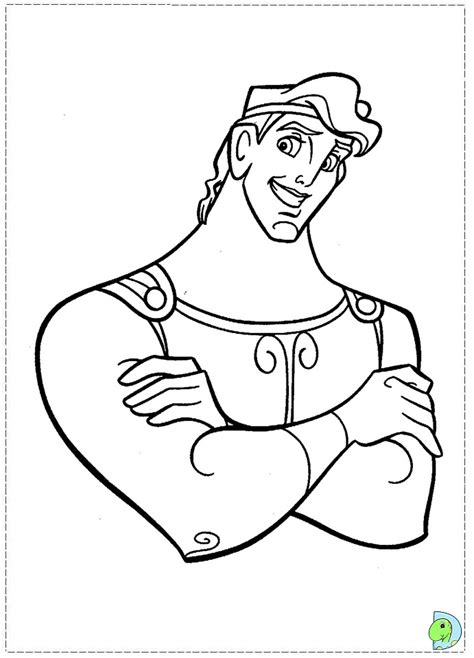 hercules coloring pages    print
