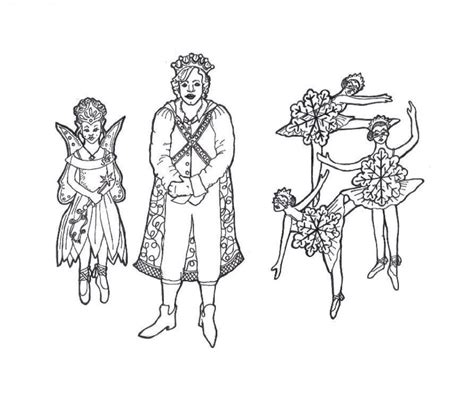 The Nutcracker Coloring Pages - Costumepartyrun