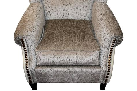 Greenwich Armchair With Atlanta Fabric And Back In Tango