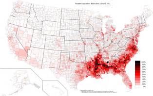 Black Population-US Map