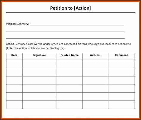 ms word petition template sampletemplatess