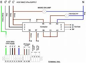 3 Phase Power Wiring Diagram