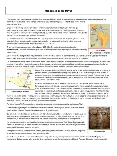 monograf 237 a de los mayas