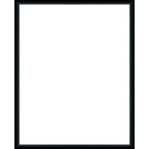 cadre photo sur mesure en aluminium noir avec plexiglas et dos sur cadre photo eu