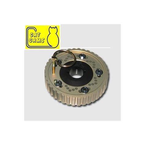 siege 206 s16 poulie réglable cat cams peugeot 206 307 2 0 16s