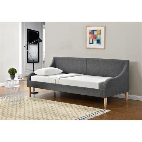 en casa 174 tagesbett 90 x 200 cm schlafsofa bett textil bettgestell schlafzimmer ebay