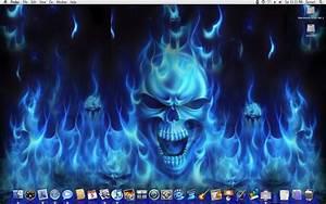 flaming skulls by macosxtiger on DeviantArt
