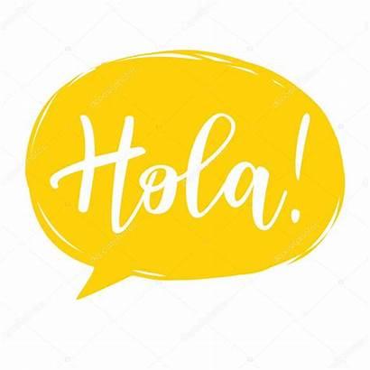 Hola Calligraphy Spagnolo Corso Spanish Conversazione Hello