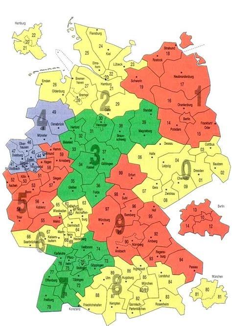dbl karte deutschland postleitzahlen kostenlos