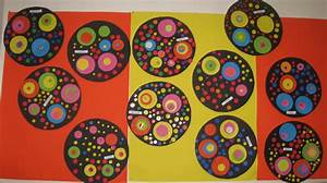 Des cercles comme kandinsky cycle 1 for Peindre un couloir en 2 couleurs 13 des cercles comme kandinsky cycle 1