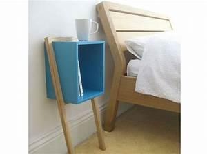 Table De Chevet Cube : d tournez vos tables de chevet elle d coration ~ Teatrodelosmanantiales.com Idées de Décoration