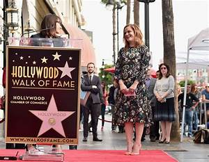 Amy Poehler Is Honored with a Star on the Hollywood Walk ...