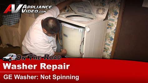 ge wpsqtaa washer repair  spinning appliance video