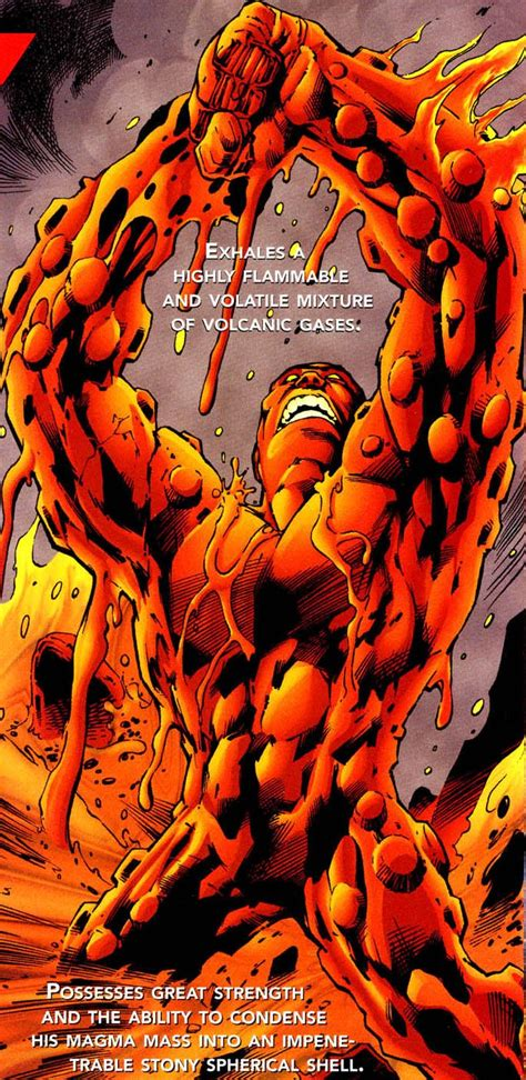 lava lord  earth dc comics
