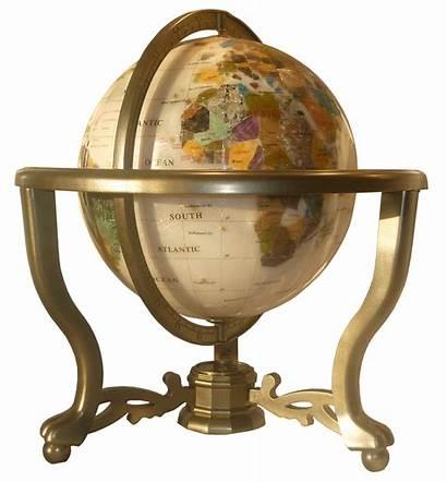 Globe Terrestre Bureau Nacre