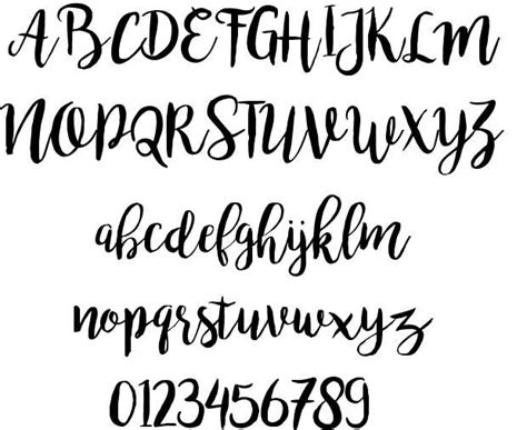 free lettering fonts the 25 best bromello font ideas on 21857
