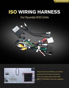 Iso Wiring Harness For Hyundai Ix35 Units Car Dvd Wholesalers