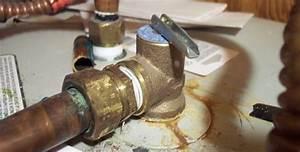 Pressure Relief Valve Outdoor Faucet
