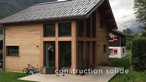 construire votre maison en bois youtube With construire sa maison en bois