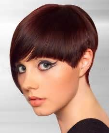 Short Asymmetrical Hairstyle with Bangs