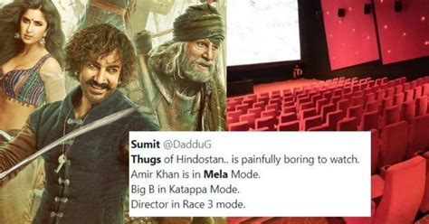 thugs  hindostan opens  pathetic audience reviews