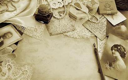 Letter Retro Wallpapers Pencil Antique Backgrounds Desktop